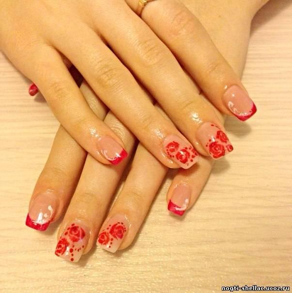 Ногти нарощенные 1